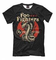 Футболка Print Bar Foo Fighters (MZK-485739-fut-2-M)