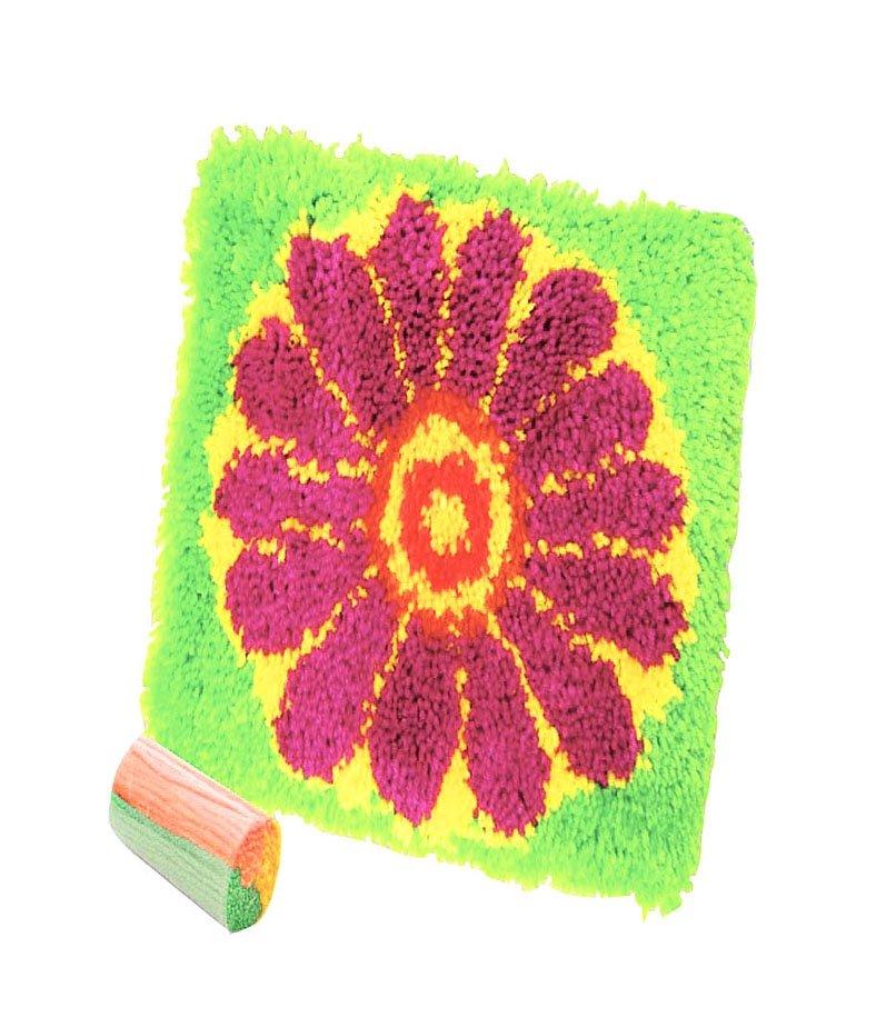 Цветы коврики комнатные