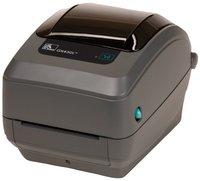 Термотрансферный принтер Zebra GX430t 300 DPI, EU/UK Cords, RS232, LPT, USB (GX43-102520-000)