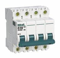 Автоматический выключатель 4р 32а х-ка b ва-101 4,5ка dekraft Schneider Electric, 11045DEK