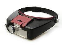 Лупа налобная Veber с подсветкой MG81007-A Veber (Вебер) 11294