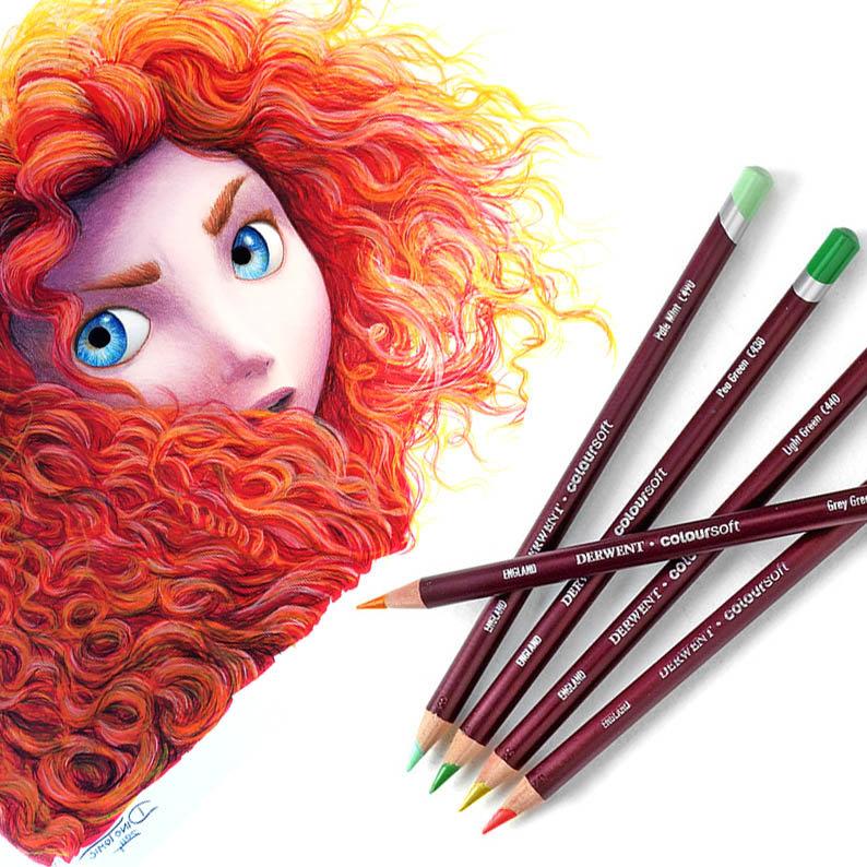 Какими карандашами лучше рисовать цветные