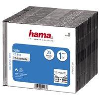 Коробка для CD-дисков Hama H-51167, прозрачный, 25 штук