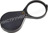 Лупа STAYER STANDARD карманная складная, 6 кратное увеличение, диаметр линзы - 60 мм 40521-60