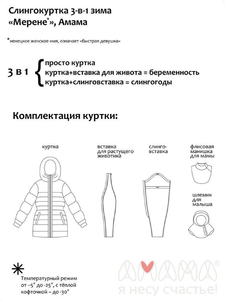 Выкройка вставки для беременных в куртку 50