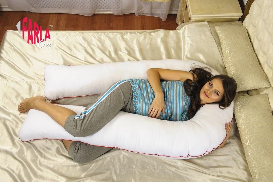 Как спать на подушке для беременных u 42