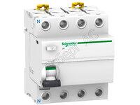 IID 4П 80A 300mA AC Блок утечки тока (УЗО) 4-полюс. 80A 300mA, тип АC Schneider Electric, A9R14480