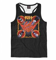 Майка борцовка Print Bar KISS (KIS-382749-mayb-2-XXL)