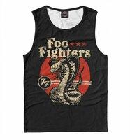 Майка Print Bar Foo Fighters (MZK-485739-may-2-L)