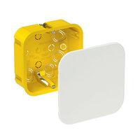 Коробка разветвительная (ответвительная) для полых стен 100x100x50 (Schneider Electric), арт. IMT35161