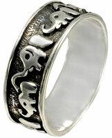 Серебряное кольцо ФИТ 06981-f, размер 16,5 мм