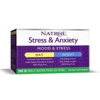 Natrol Stress & Anxiety Day & Night, 60 таб