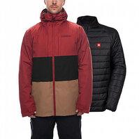 Куртка 686 AUTHENTIC 20k/15k SMARTY 3-in-1 Form 2019 (куртка 686 AUTHENTIC 20k/15k SMARTY 3-in-1 Form 2019 Rusty Red Colorblock S)