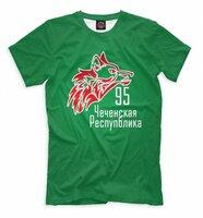 Футболка Print Bar Чечня (CHN-219392-fut-2-2XS)