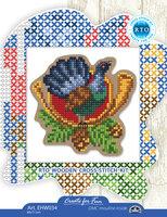 Набор для вышивания РТО по перфорированной форме с магнитом (арт. EHW034)
