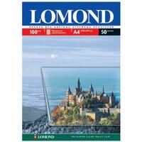 Пленка А4 прозрачная струйная 100мкр Lomond (50л) 0708415