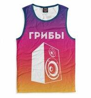 Майка Print Bar Грибы (GBI-407207-may-2-5XL)