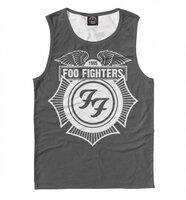 Майка Print Bar Foo Fighters (MZK-861225-may-2-L)