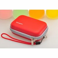 Чехол-бокс для фотоаппарата Nikon Coolpix S2/S2700/S2800/S2900/S3 из высоко материала красный