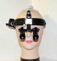 Бинокулярная лупа призматическая с подсветкой Magnifier QC Optic x6,0-420HL-3