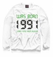 Свитшот Print Bar 1991 год рождения (DDD-712761-swi-5XL)