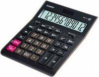 Калькулятор Калькулятор настольный CASIO GR-12-W-EP 12-разрядный черный