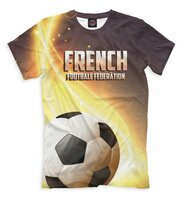 Футболка Print Bar French Football League (FFR-362051-fut-2-XS)
