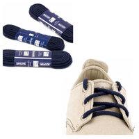 Шнурки Saphir (круглые, толстые) (Цвет-06 Темно-синий Размер-90 см)