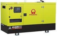 Дизельный генератор Pramac GSW 65 D в кожухе с АВР