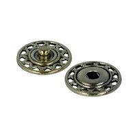 Кнопки пришивные KLY-18 металл Gamma d 18 мм 5 шт. №03 под бронзу