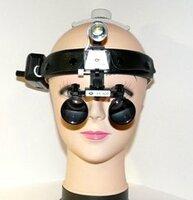 Бинокулярная лупа с подсветкой Magnifier QC Optic x3,5-420HL-3