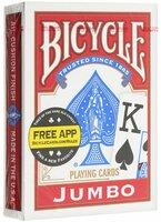 Карты игральные Bicycle Jumbo, 54 карты. К-462