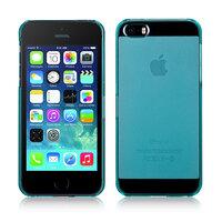 Чехол Momax Clear Breeze Blue для iPhone 5/SE бирюзовый