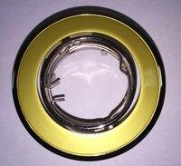 Светильник штампованный 35w G4 MR11/JC золото никель IP20 220В VT 423А (Vito), арт. VT423A-35W/PR.GLD.NC/MR11