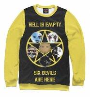 Свитшот Print Bar HU 6 Devils Are Here (HLW-470353-swi-XXL)