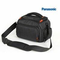 Чехол-сумка-бокс для фотоаппарата Panasonic Lumix с отделением для дополнительных аксессуаров из высоко материала