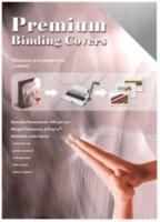 Обложка Office Kit GSA300250 для переплёта А3, картон, глянец, серебряная, 250 г/кв.м, 100 шт.
