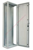 ZPAS WZ-1951-01-26-011 Корпус электрического шкафа серии SZE2, 1600x1200x600мм (ВхШхГ) с передней дверью, задней панелью, с монтажной панелью, цвет серый (RAL 7035) (WZ-3820-01-26-011) (SZE2-1951-1-3-26)