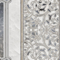Декор напольный Alma Ceramica Demetra Бордюр DFU03DMT004 418x418 мм (Керамическая плитка для пола)