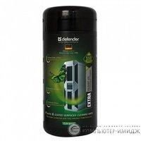 Чистящ.салфетки д.комп/оргтехники Defender Eco CLN 30300 Туба 100 шт