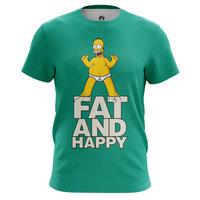 Футболка teestore Симпсоны Fat and happy