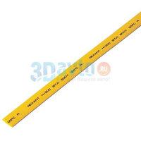 Термоусадка желтая 7,0 / 3,5 мм 1м REXANT
