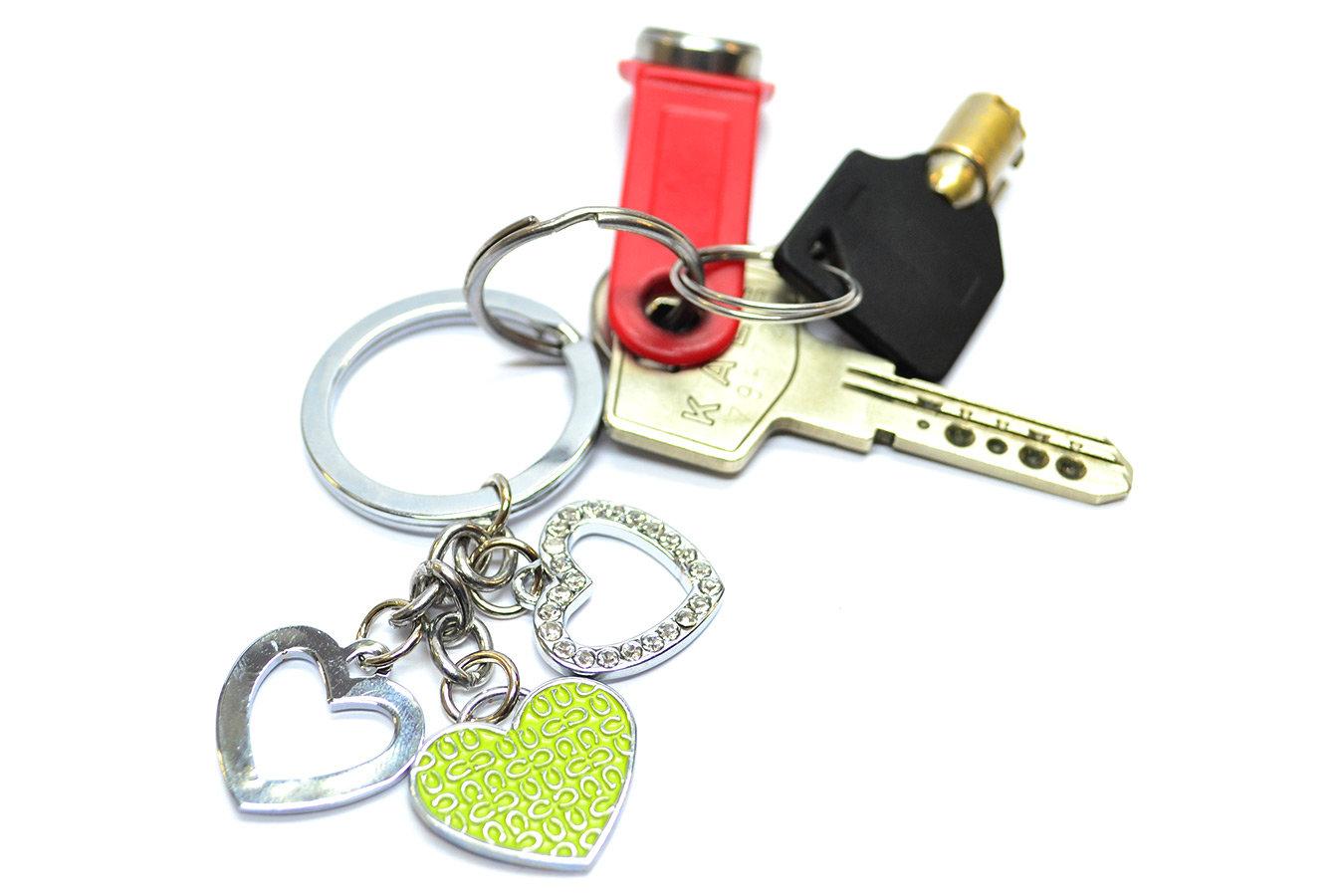 Как самому сделать брелок к ключам