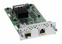 Модуль расширения Cisco NIM-1GE-CU-SFP= 1-port GE WAN NIM, dual-mode RJ45/SFP