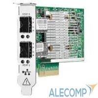 HPE Ethernet Adapter, 530SFP+, 2x10Gb, PCIe(2.0), Broadcom, for DL165/580/585/980G7 & Gen8/Gen9-servers 652503-B21