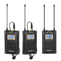 Петличная микрофонная радио система CoMica CVM-WM100 Plus