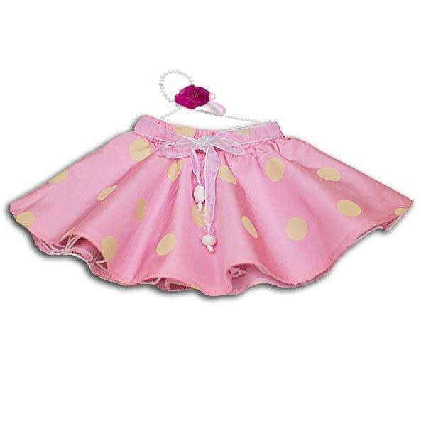Сшить пышную юбку на куклу