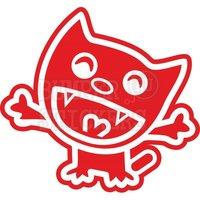 Переводная временная татуировка Happy Cat JDM - Довольный кот ЖДМ