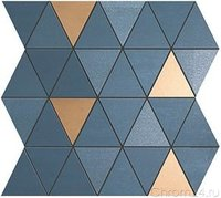 Atlas Concorde Mek Blue Mosaico Diamond Wall керамическая плитка (30,5 x 30,5 см) (9MDU)