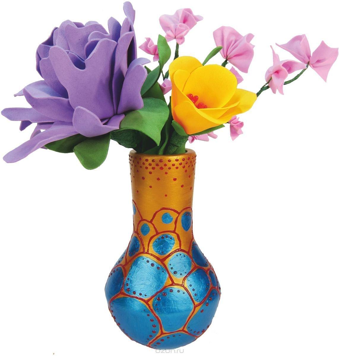 Фото вазы с цветами с рисунками